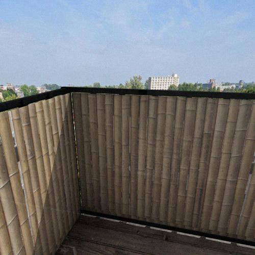 Balkonafscheiding bamboe