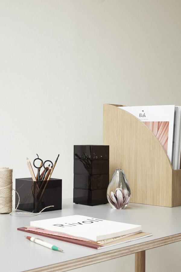 glazen ornament Hübsch presse papier villa madelief