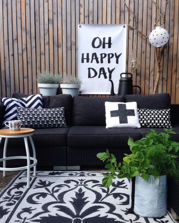 Tuinposter Happy Day Sipp Outdoor buitenposter happy day