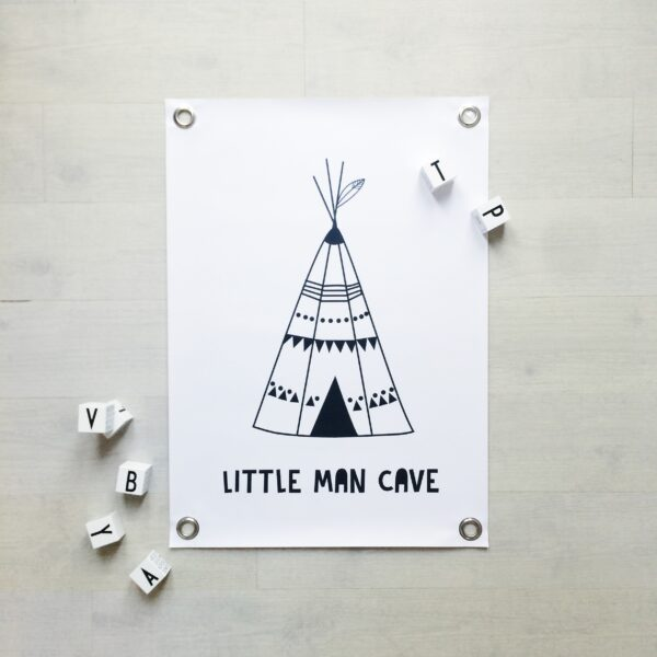 tipi poster little man cave sipp outdoor villa madelief