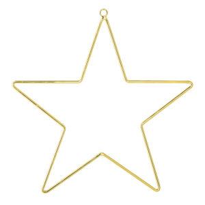 kerstster goud metaaldraad Bloomingville Villa Madelief
