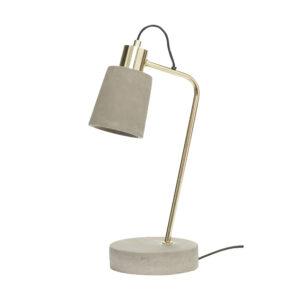 Hübsch tafellamp beton villa madelief