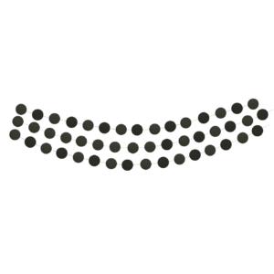 confetti slinger zwart Delight Department