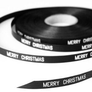 Merry Christmas lint zwart Villa Madelief