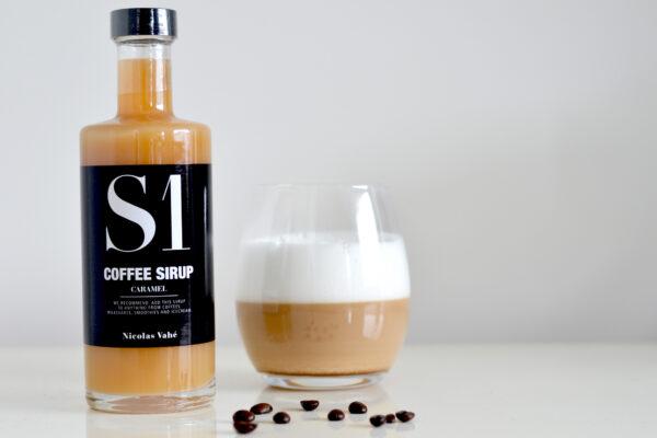 Nicolas Vahé koffie siroop S1