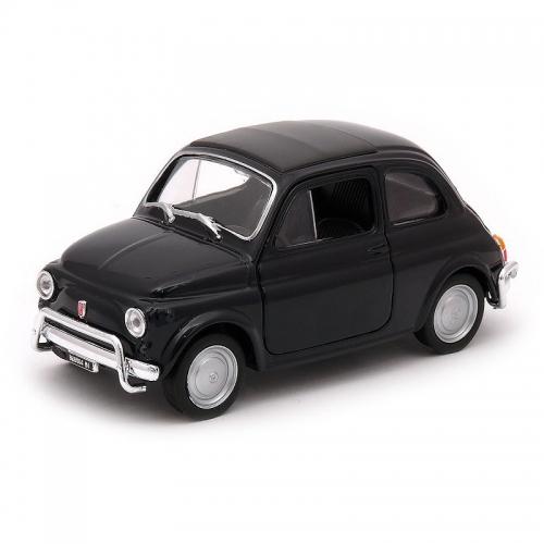 Fiat 500 schaalmodel zwart