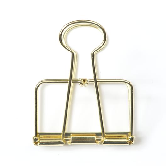 Gouden binder clip 5cm Villa Madelief