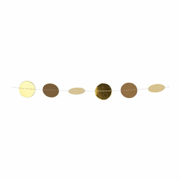confetti slinger goud raeder Villa Madelief