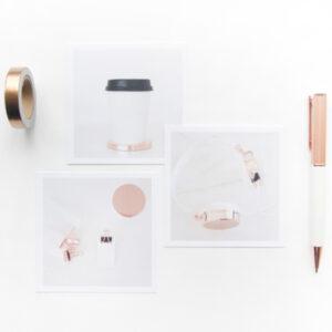 sfeerkaartjes voor moodboard copper villa madelief