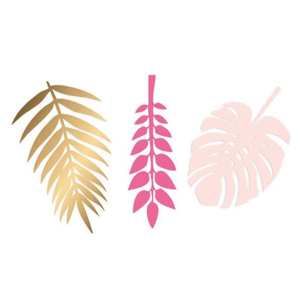 decoratieve bladeren goud roze delight department