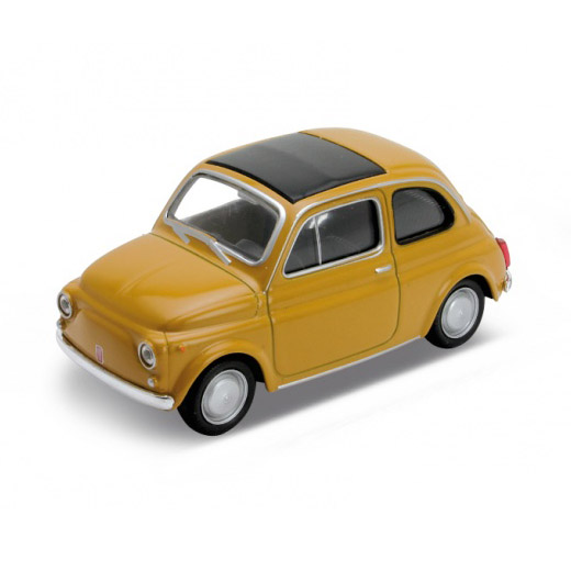 Fiat 500 miniatuur okergoud