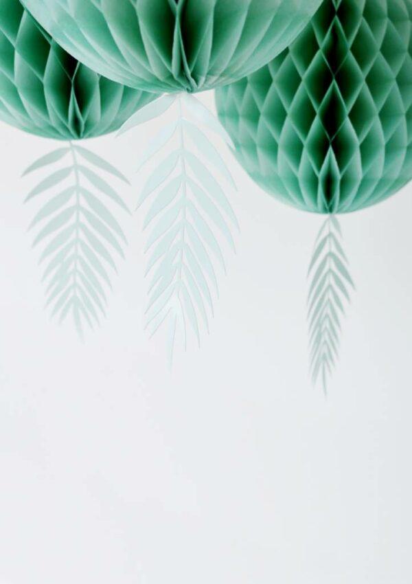 Honeycomb groen / blauw XL set van 2 Villa Madelief