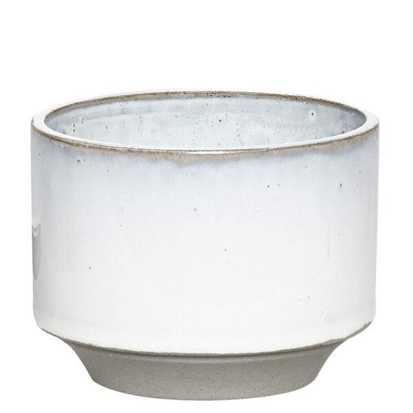hubsch bloempot grijs medium villa madelief