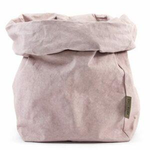 Roze paperbag Uashmama Villa Madelief