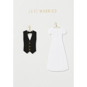 just married kaart Räder Villa Madelief