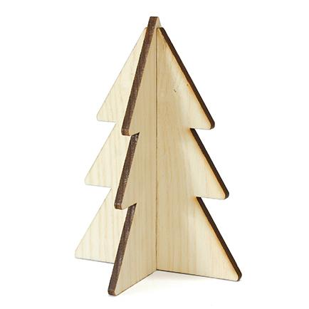 kerstboom hout blank villa madelief