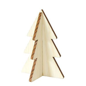mini kerstboom hout villa madelief
