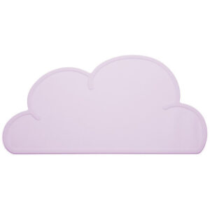 wolk placemat roze