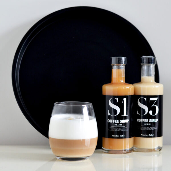 Nicolas Vahé koffie siroop S1 S3