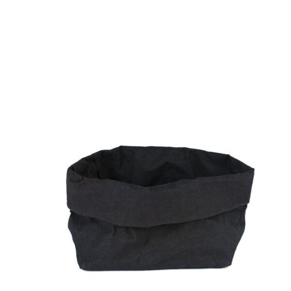 uashmama paperbag zwart large villa madelief