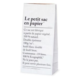 le petit sac en papier the small paperbag