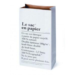 le sac en papier/the paper bag