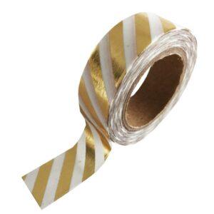 masking tape goud streep