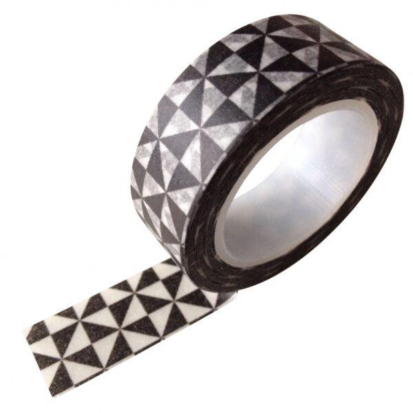 masking tape zwart wit grafisch
