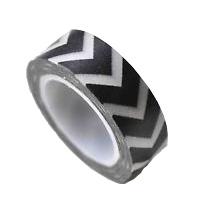 zwart wit masking tape villa madelief