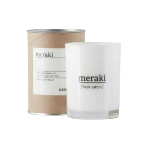 Meraki geurkaars fresh cotton groot