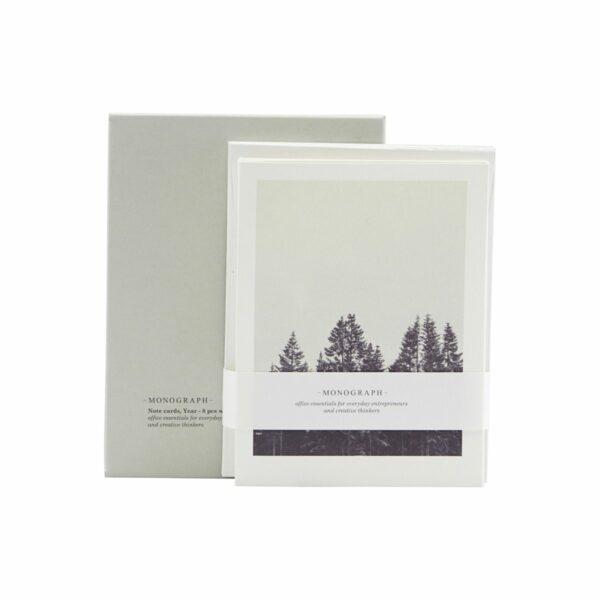 Monograph kaartenset winter Villa Madelief