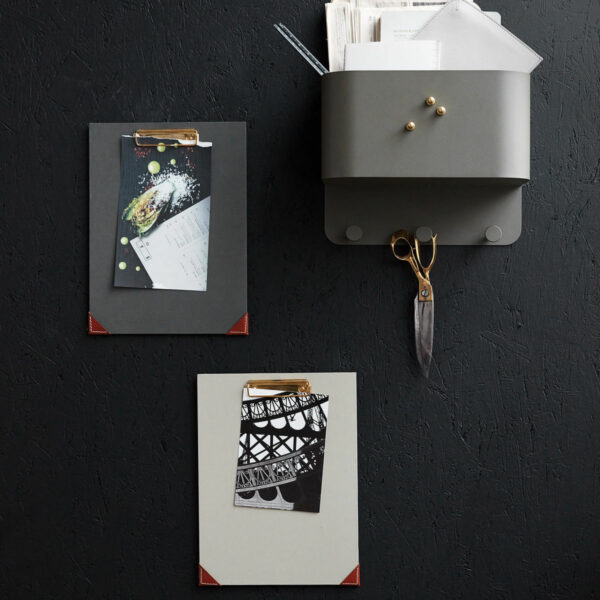 Klembord Monograph donkergrijs/groen Villa Madelief