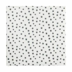 zwart wit servetten ster Nicolas Vahé Villa Madelief