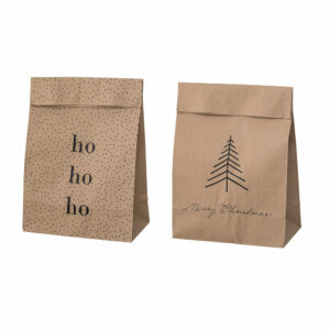 kraft paperbags Bloomingville Merry Christmas