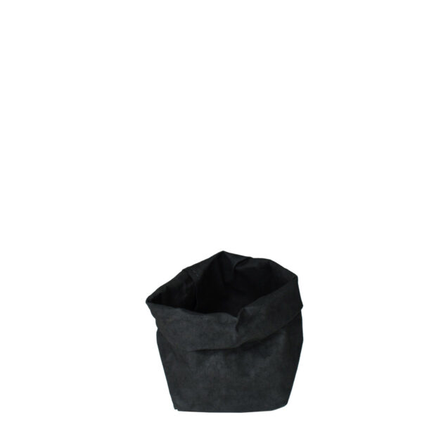 uashmama paperbag zwart piccolo villa madelief
