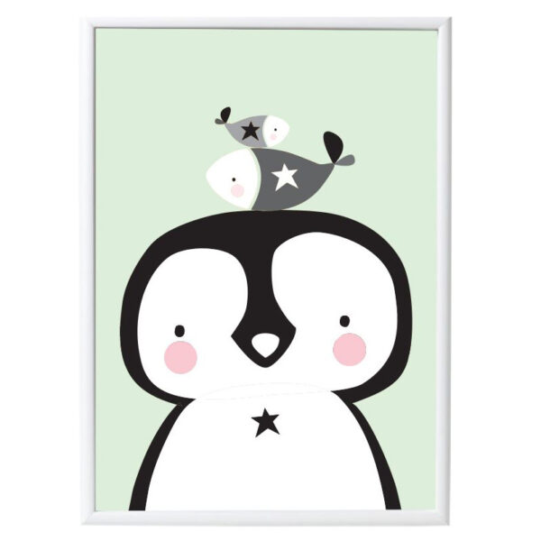 poster pinguin en co villa madelief