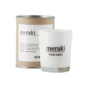 Meraki geurkaars fresh cotton