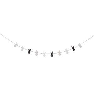 zwart wit slinger pasen