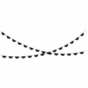 slinger zwart halve cirkel