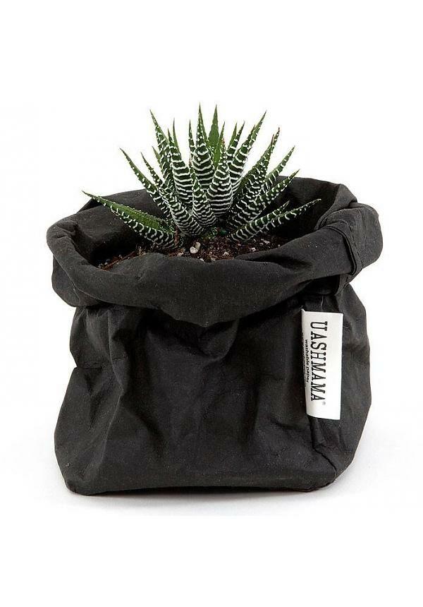 uashmama paperbag zwart small villa madelief