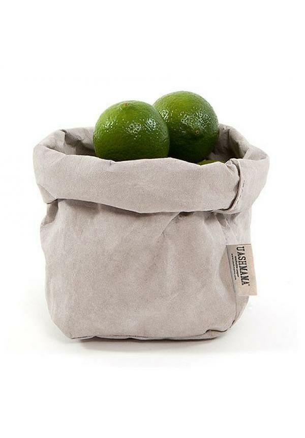 uashmama paper bag grijs villa madelief
