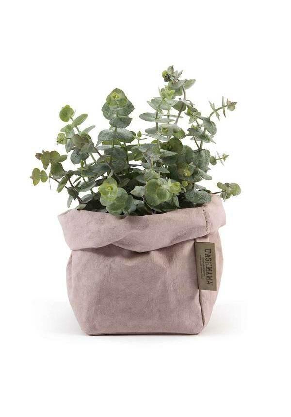 Roze paperbag Uashmama medium Villa Madelief