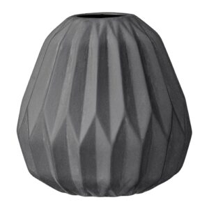 grijs geometrisch vaasje bloomingville