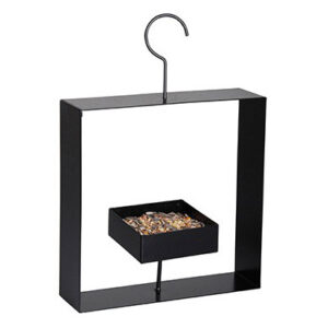 Design bird feeder black