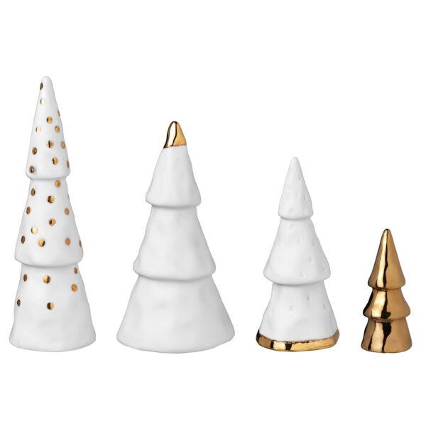 witte kerstboompjes Räder Villa Madelief
