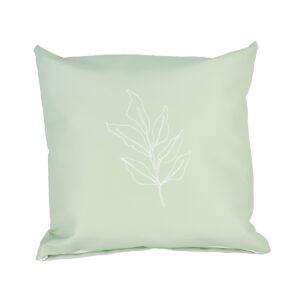 Tuinkussen groen met blad