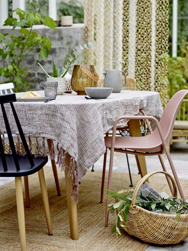 Bloomingville roze tuinstoel Dew Villa Madelief