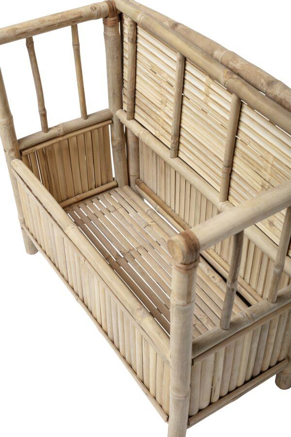 Bloomingville bamboe bankje voor kids Villa Madelief