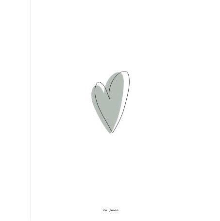 Zo Joann kaart hartje Villa Madelief