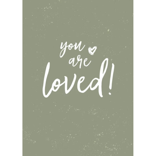 Zo Joann poster you are loved Villa Madelief